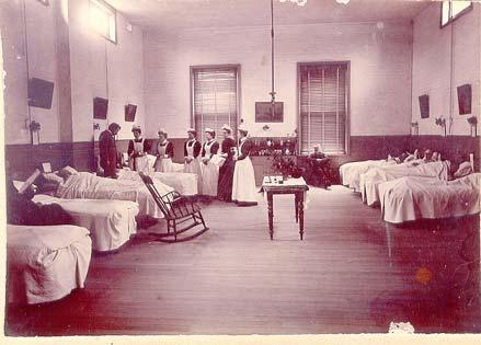 Castlemaine Hospital Ward c. 1894