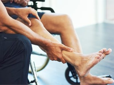 We help with using wheelchairs and other aids