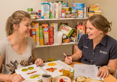Castlemaine Health dietitians can help you develop good eating habits