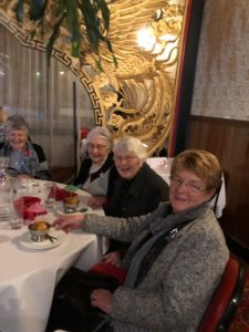 Active Tuesday club members lunch at New China restaurant in Castlemaine