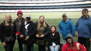Out and Out Club members tour the MCG